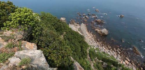 Một góc đảo Én - Thiên Cầm