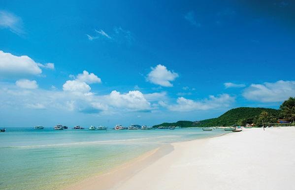 Bờ biển tuyệt đẹp Phú Quốc